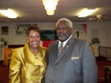 pastor and first lady polk